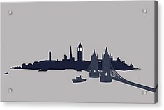 London, Great Britain Acrylic Print by Ralf Hiemisch
