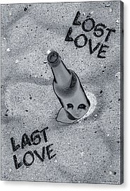 Lost Love Last Love Acrylic Print by Shelly Stallings