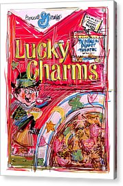 Lucky Charms Acrylic Print by Russell Pierce