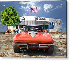 Made In The U.s.a. Acrylic Print by Michael Cleere