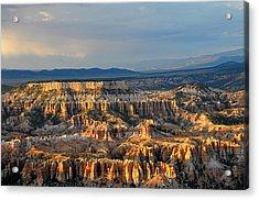 Magical Light At Bryce Canyon  Acrylic Print