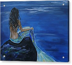 Mermaid Enchantment Acrylic Print