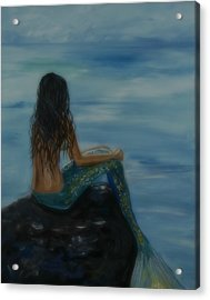 Mermaid Mist Acrylic Print