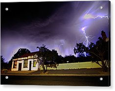 Midnight Storm Acrylic Print by Tim Nichols