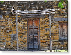 Mission Dwelling Acrylic Print by Peter  McIntosh
