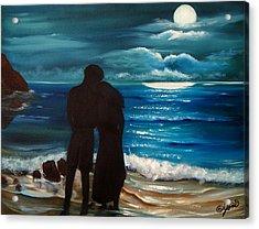 Moonlight Romance Acrylic Print