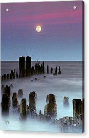 Moonrise Acrylic Print by James Jordan Photography