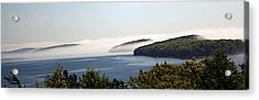 Acrylic Print featuring the photograph Morning Mist In Acadia by Greg DeBeck