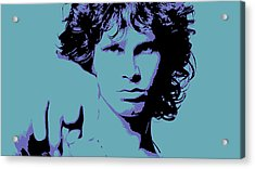 Morrison To My Doors Acrylic Print by Jera Sky