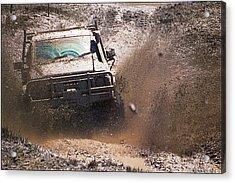 Mud Slinger Acrylic Print