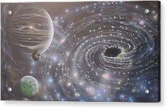 Multiverse 584 Acrylic Print by Sam Del Russi