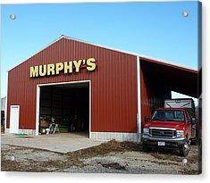 Murphy's Acrylic Print