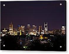 Nashville Cityscape 4 Acrylic Print by Douglas Barnett