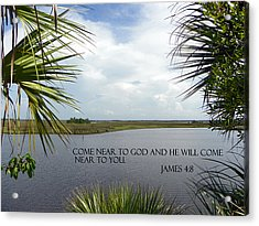 Near To God Acrylic Print