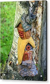 No Place Like Gnome Home IIi Acrylic Print by Eric Knowlton