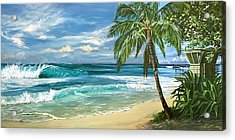 North Shore Acrylic Print by Lisa Reinhardt