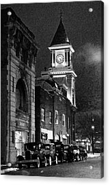 Old City Hall Acrylic Print by Wade Aiken
