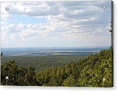 Overlooking Pinetop Acrylic Print