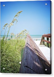 Path To Relaxation Vanilla Pop Acrylic Print by Chris Andruskiewicz