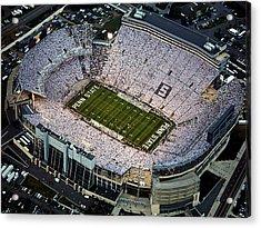 Penn State Aerial View Of Beaver Stadium Acrylic Print