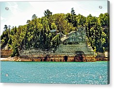 Pictured Rock 6323  Acrylic Print