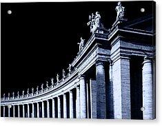 Pillars Acrylic Print by Stefan Nielsen