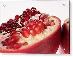 Pomegranate Acrylic Print by Shioguchi