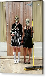 Post Nuclear Winter Gothic Acrylic Print by Michael Ledray