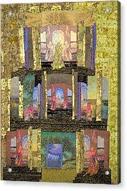 Prayers For Peace Acrylic Print by Roberta Baker