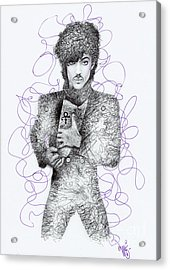 Prince Acrylic Print by Wave Art