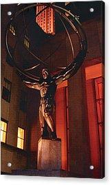 Prometheus At Night Acrylic Print by Alton  Brothers