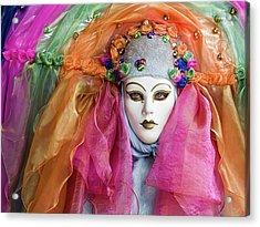 Rainbow Girl Acrylic Print