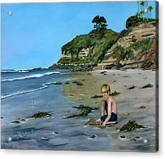 Reflecting Acrylic Print by Lisa Reinhardt