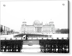Reichstag Berlin - Street Photography Acrylic Print