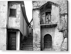 Acrylic Print featuring the photograph Roccagorga by Emanuel Tanjala