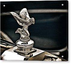 Rolls Royce Hood Ornament Acrylic Print by Douglas Pittman
