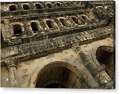 Acrylic Print featuring the photograph Roman City Gate - Porta Nigra by Urft Valley Art