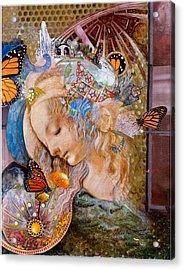 Sanctuary Acrylic Print by Diane Woods