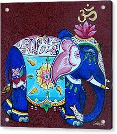 Sandra Kali Acrylic Print by Sabina Espinet