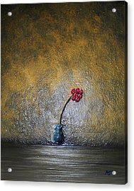 Acrylic Print featuring the painting Seclude  by Edwin Alverio