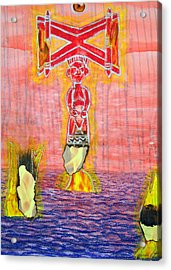 Shango Acrylic Print by Duwayne Washington
