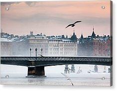 Skeppsholmsbron, Stockholm Acrylic Print
