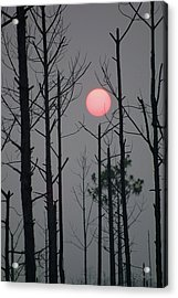 Smokey Sunset Acrylic Print