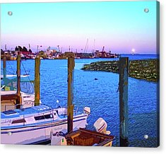 Southport Lights Acrylic Print by Garland Johnson