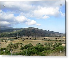 Spain Country Side Near Costa Del Sol Acrylic Print by John Shiron