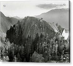 Stawamus Chief, Squamish, British Columbia, Canada, Tilt-shift Acrylic Print by Brian Caissie
