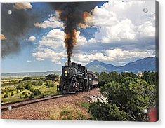 Steaming Towards La Veta Acrylic Print
