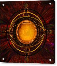 Steampunk Navigator Acrylic Print
