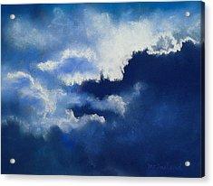 Stormy Sky Acrylic Print by Lorraine McFarland