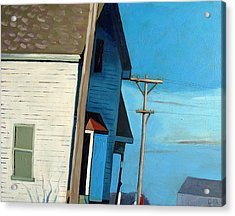Sunny Sideup Acrylic Print by Charlie Spear